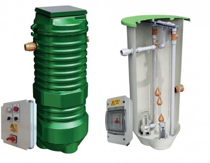 Канализационные насосные установки, выбор и монтаж / вариант-а