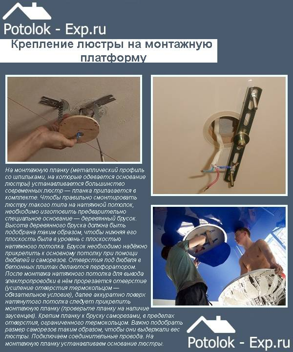 Сборка и установка люстры: пошаговая инструкция по монтажу своими руками   отделка в доме