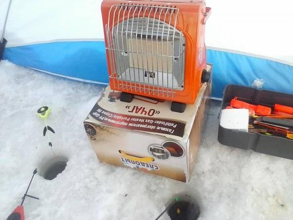 Лучшие газовые обогреватели для зимней палатки