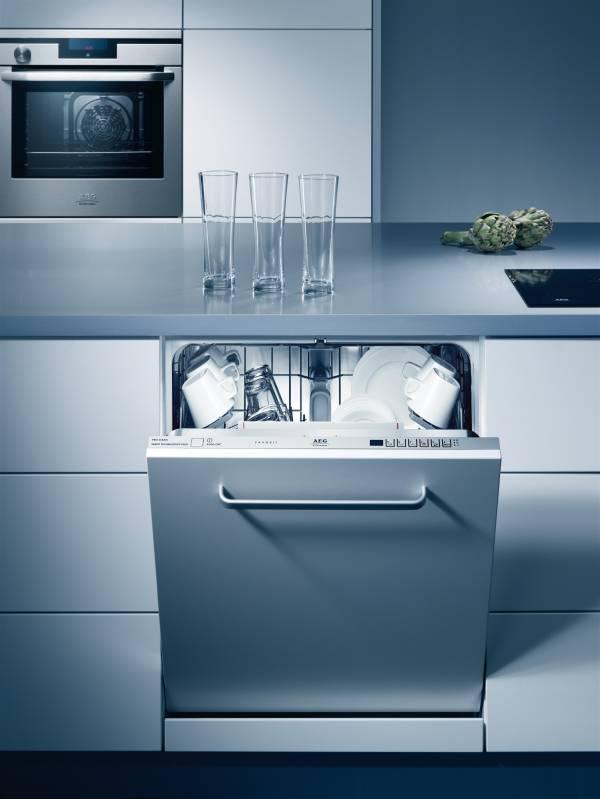 Размеры встроенных посудомоечных машин как выбрать