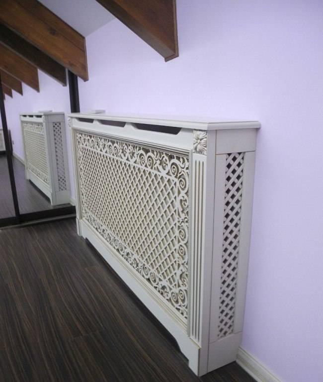 Декоративные решетки для радиаторов отопления: классификация и их виды ☛ советы строителей на domostr0y.ru