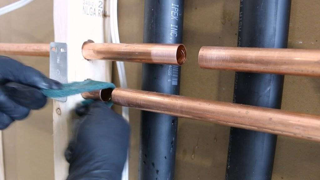 Монтаж медных труб своими руками: правила, рекомендации, оборудование