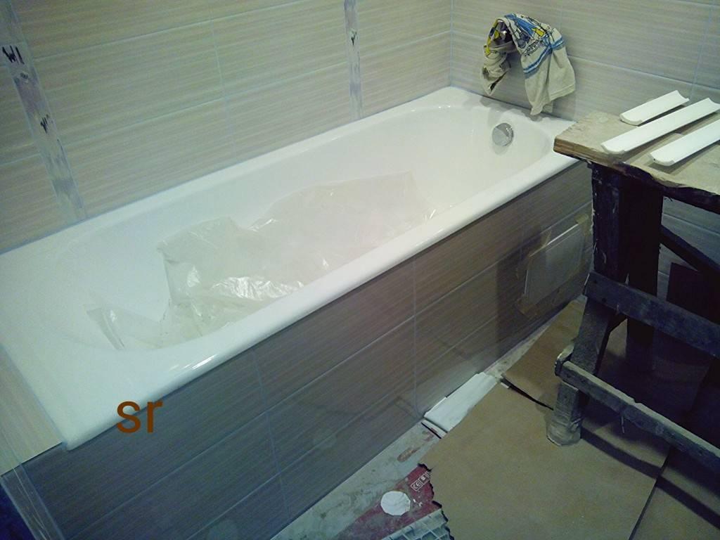 Как обновить чугунную ванну – 3 разных способа для домашнего мастера