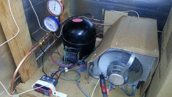 Как из кондиционера сделать холодильную камеру   авто брянск