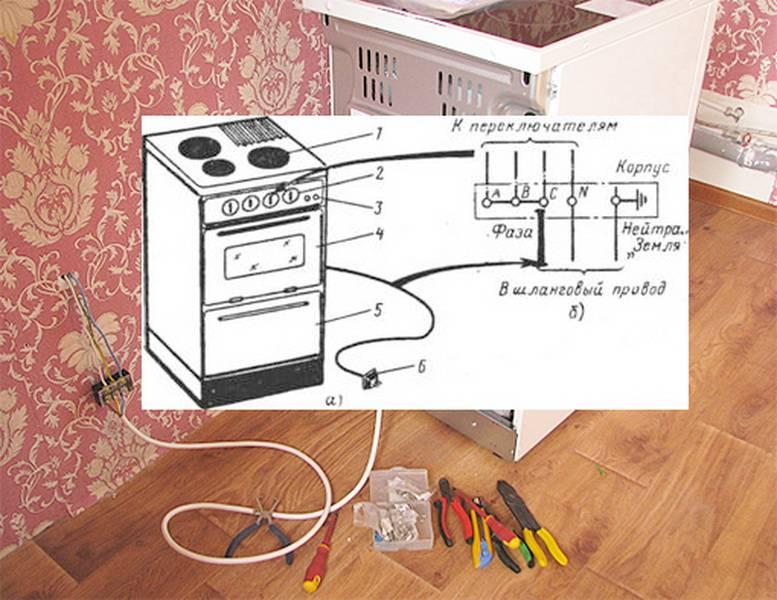 Как подключить газовую плиту самостоятельно — подробная пошаговая инструкция