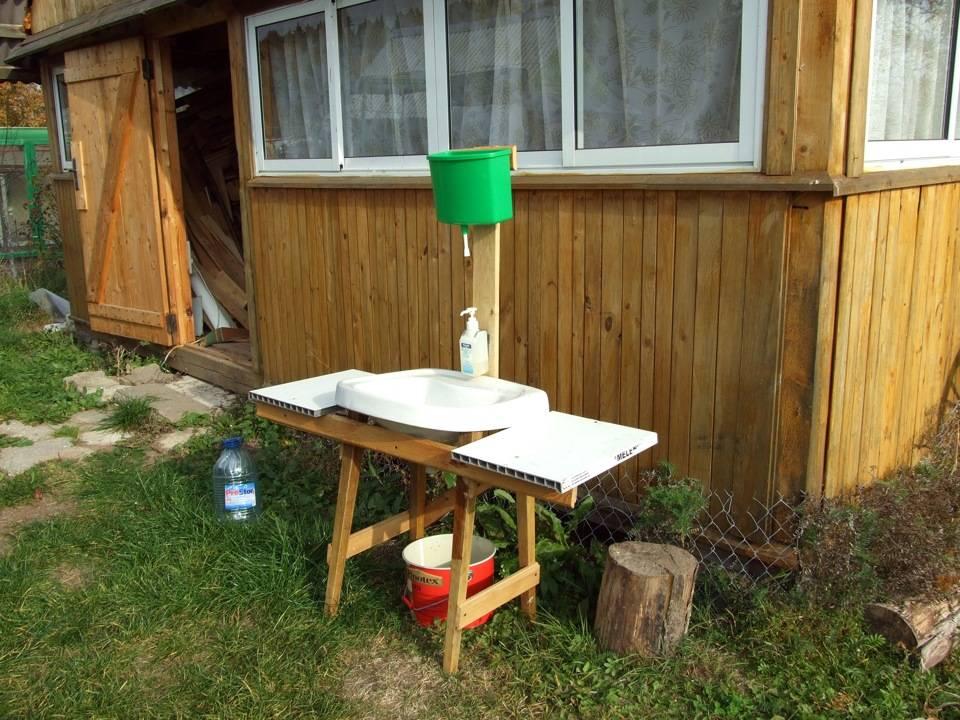 Дачный умывальник: своими руками из подручных материалов, фото конструкций, лучшие варианты самостоятельного изготовления