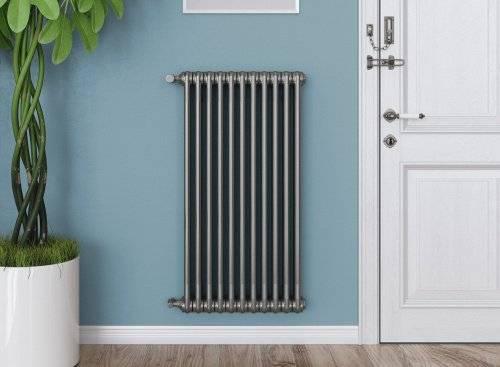 Разбираемся в популярности вертикальных радиаторов отопления