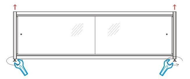 Как сделать декоративный экран или нишу под ванну своими руками