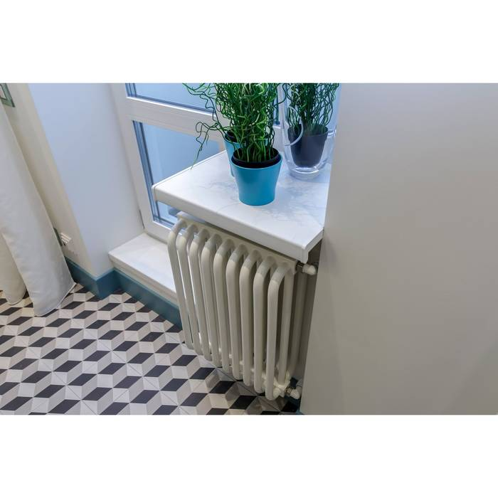 Вертикальные радиаторы отопления: как выбрать высокие батареи для квартиры и частного дома, обзор характеристик и отзывов, нижнее и боковое подключение