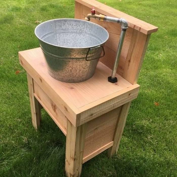 Умывальник для дачи своими руками фото, как сделать раковину