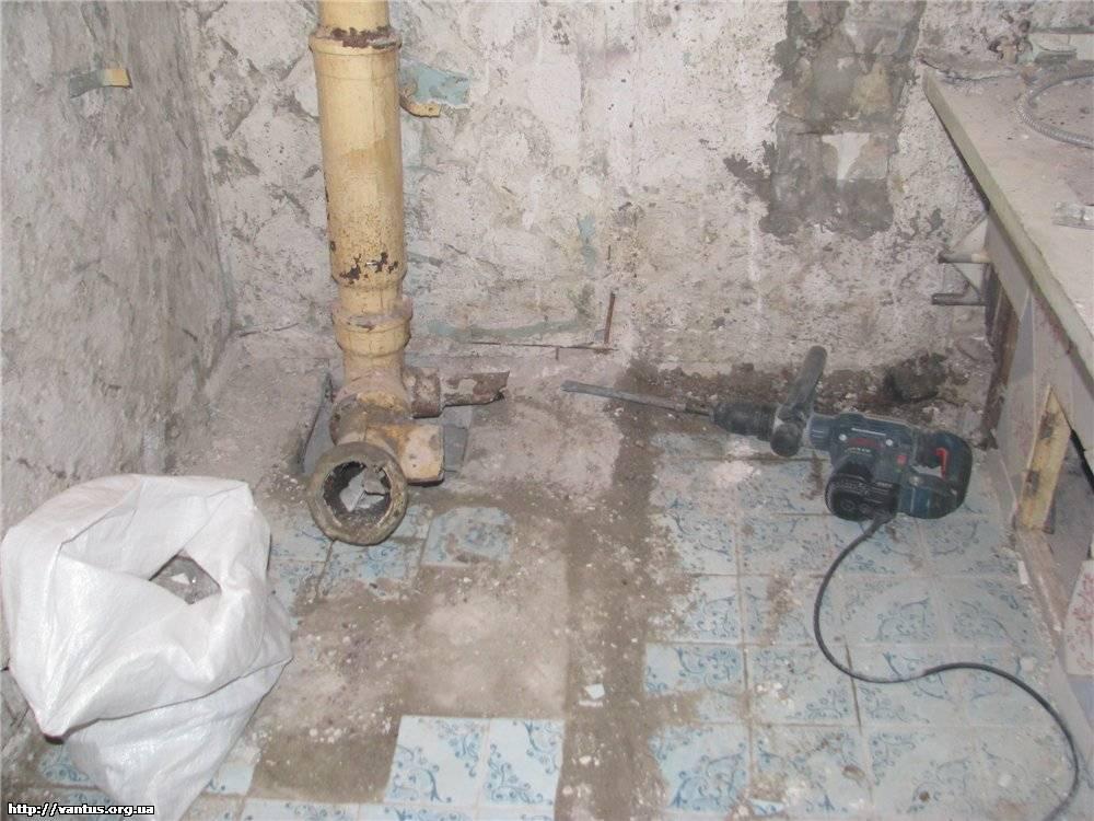 Замена чугунной канализации на пластиковую: зачем нужна, порядок действий при проведении, шумоизоляции