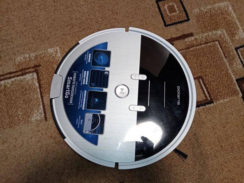 Робот-пылесос polaris pvcr 1126w для автоматической уборки