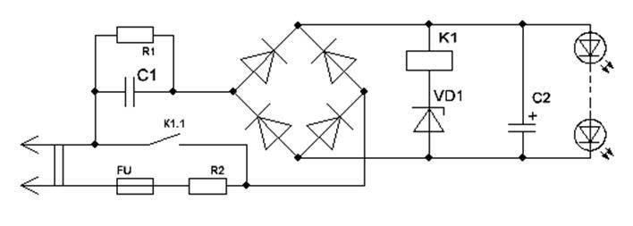 Светодиодная лампа на 220в своими руками