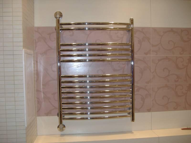 Установка полотенцесушителя в ванной своими руками: как правильно смонтировать и подключить