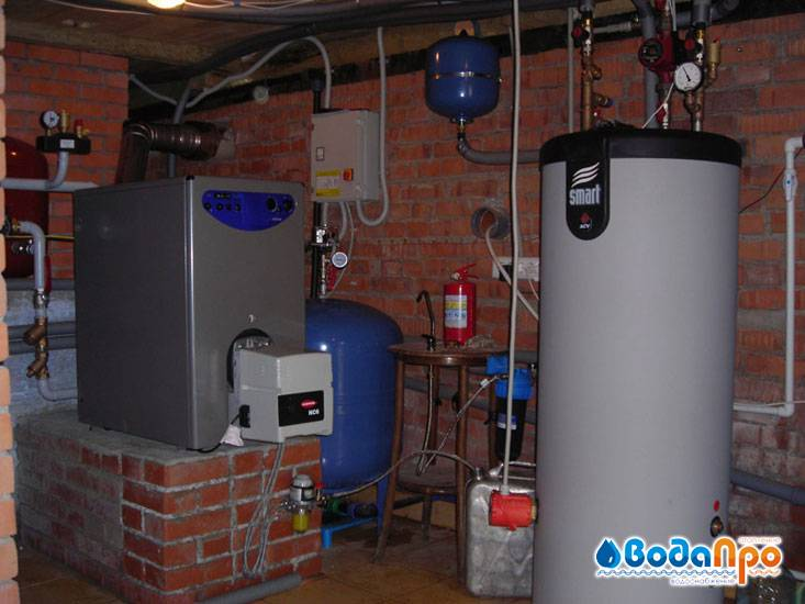 Отопление коттеджа - выбираем лучшую систему отопления