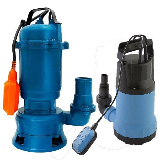 Погружной насос для грязной воды: характеристики, модели | гидро гуру