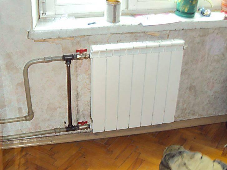 Замена батарей отопления в квартире - от выбора до установки