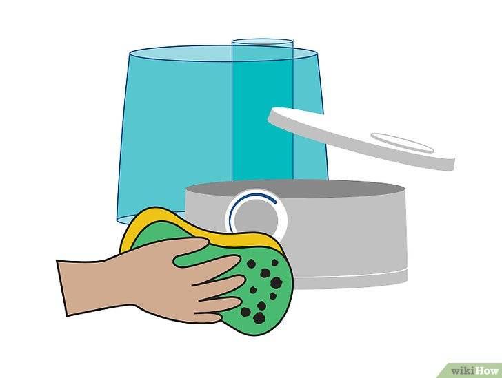 Как почистить увлажнитель воздуха? – от накипи, плесени и слизи