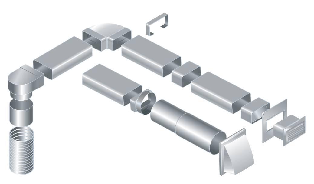 Пластиковые вентиляционные трубы для вытяжки: виды, их характеристики, применение