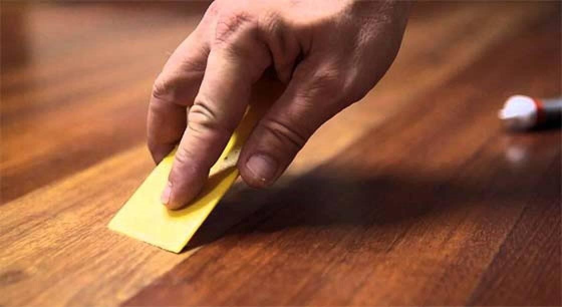 Как убрать царапины с мебели в домашних условиях?