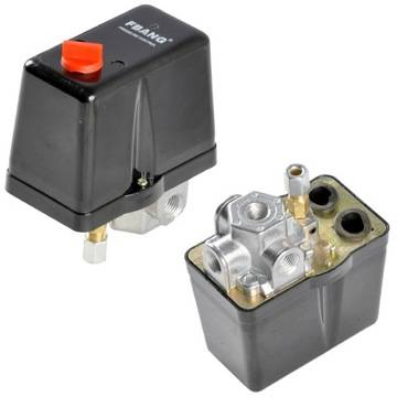Реле давления для компрессора: устройство, маркировка + схема подключения и регулировка