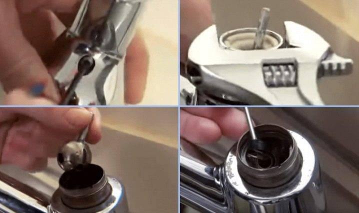Ремонт кухонного смесителя своими руками: устройство кранов + частые поломки и способы их устранения