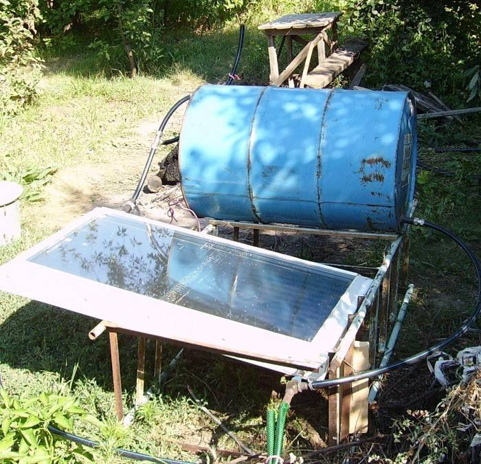 Солнечные гелиоколлекторы для нагрева воды и отопления