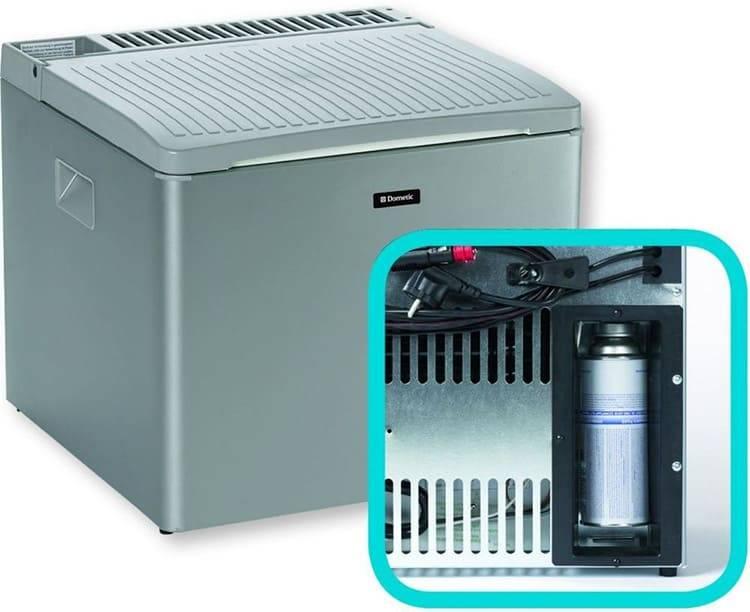 Как охлаждает холодильник на газу