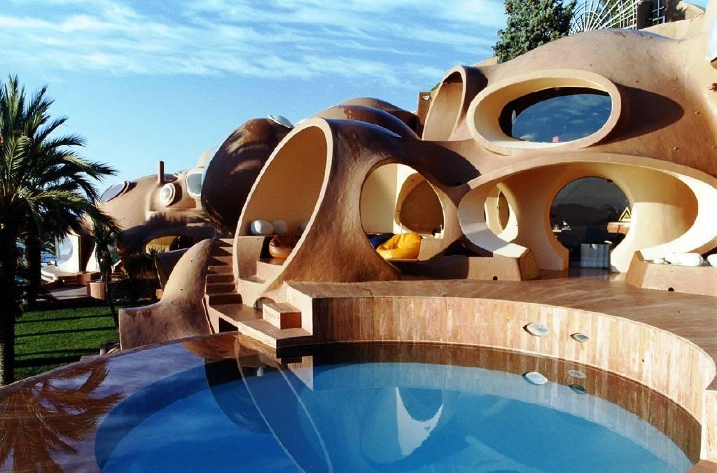 Топ 10 самых необычных домов мира: дизайн проекты на фото