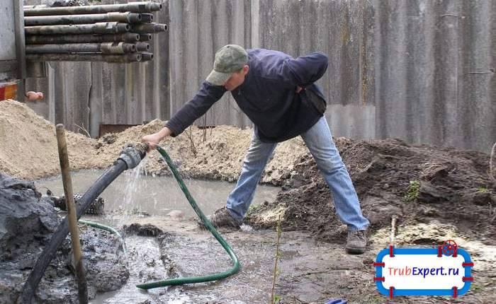 Чистка скважины от ила и песка своими руками: способы, выбор метода и профилактика