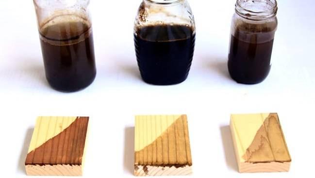 Как самостоятельно сделать морилку для дерева?