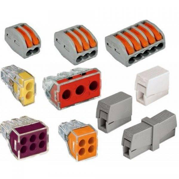 Соединители для электрических проводов: обзор и сравнение