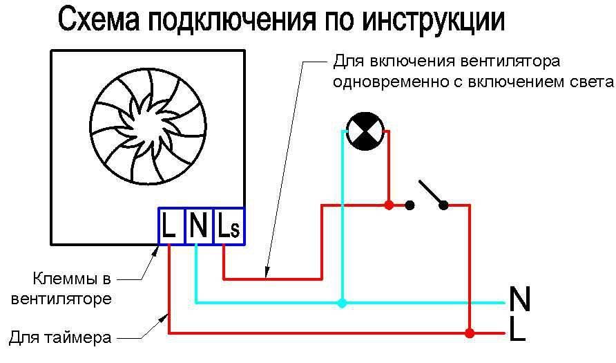 3 схемы подключения вентилятора в ванной - ошибки и правила установки выключателя вытяжки в санузле.