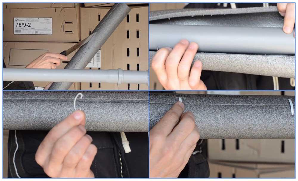 Лучшие способы как утеплить трубу дымохода своими руками