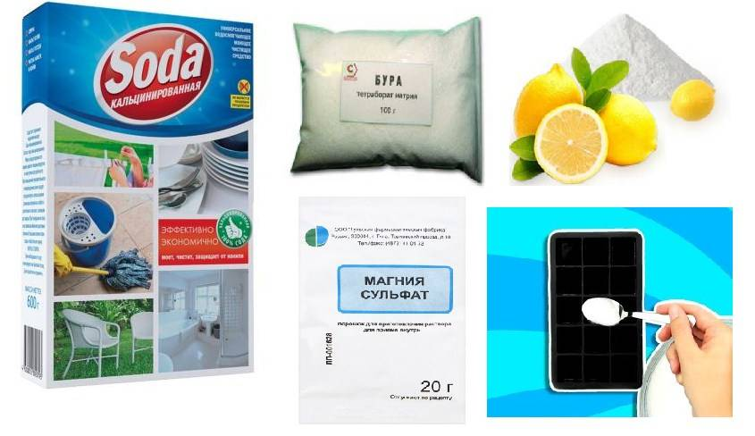 Как приготовить моющие средства для посудомоечной машины своими руками