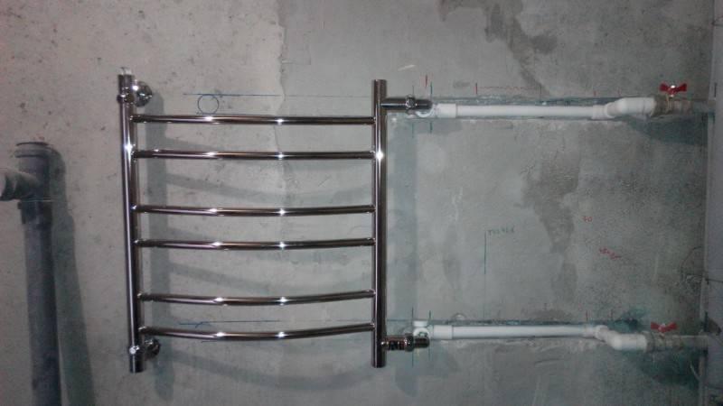 Как подключить полотенцесушитель к двухтрубной системе отопления? - строительные рецепты мира
