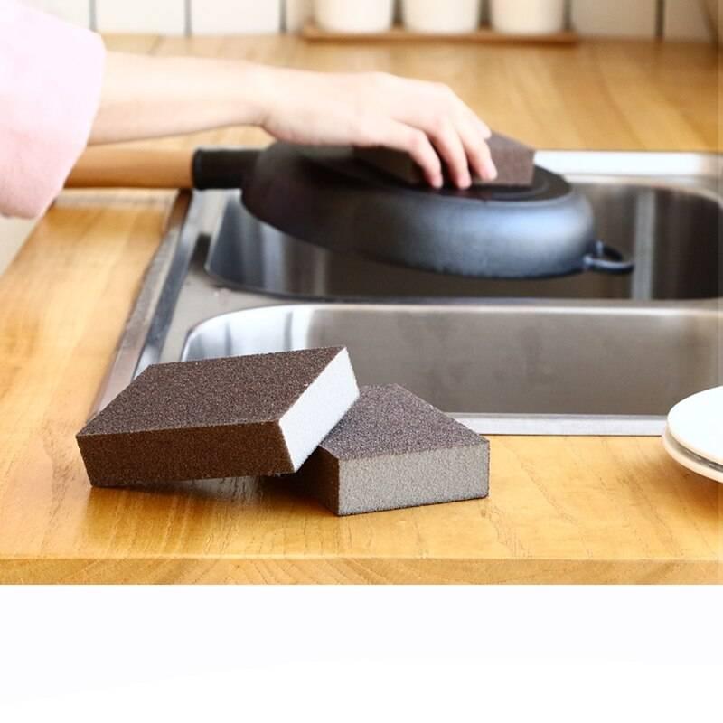 Что такое, как выбрать и правильно пользоваться меламиновой губкой?