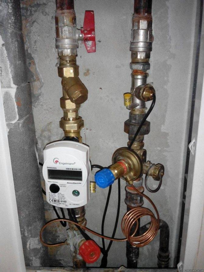 Как поставить счётчики на отопление в квартиру: установка - точка j