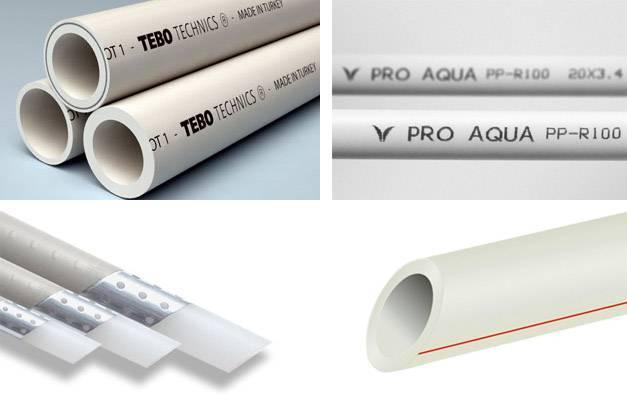 Какого диаметра полипропиленовые трубы использовать для отопления? - строительные рецепты мира
