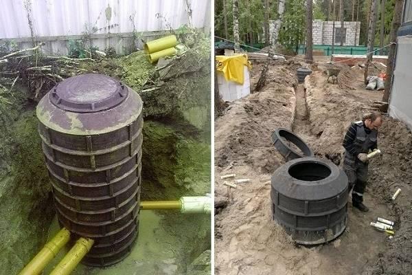 Выгребная яма из бетонных колец: конструкция, типы и как сделать своими руками?
