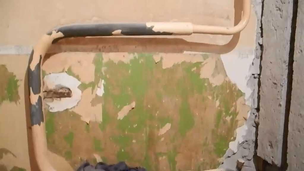 Перенос полотенцесушителя на другую стену: пример проведения работ