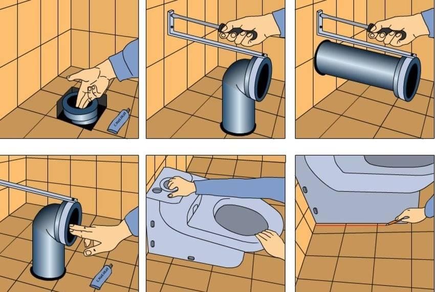 Гофра для унитаза: правила установки и подключения к сантехнике