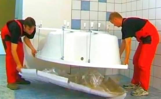 Какую ванну лучше выбрать чугунную, акриловую или стальную?