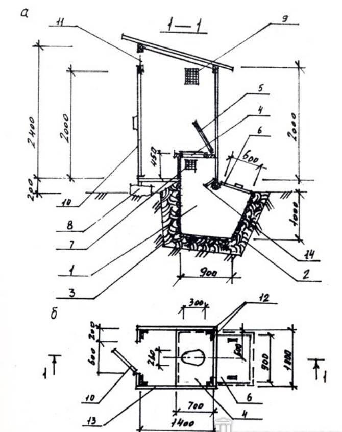 Туалет на даче - своими руками: схемы чертежи, фото и видео
