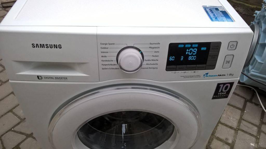 Почему не включается стиральная машина самсунг: поиск проблемы и ее решение