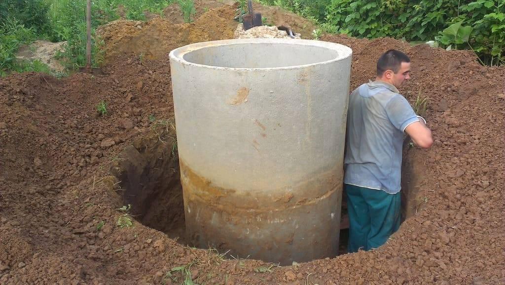 Глиняный замок для колодца из бетонных колец: как сделать мягкую и твердую отмостку своими руками