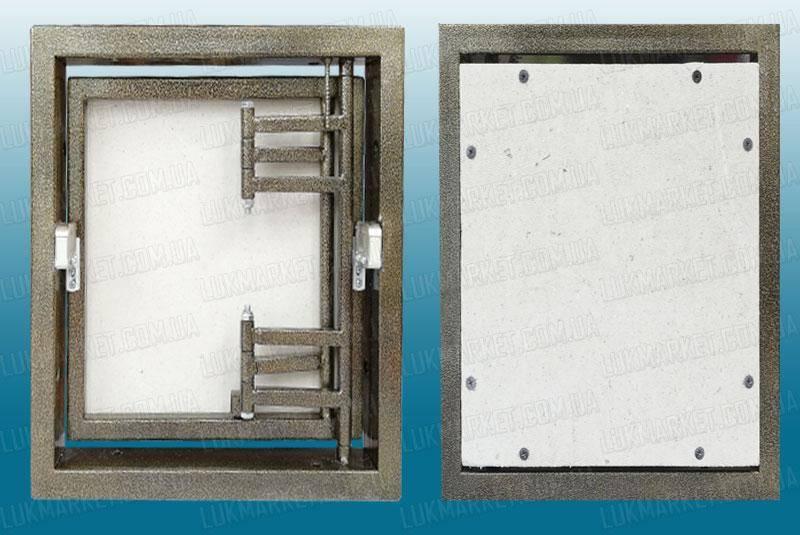 Скрытый резиновый люк под плитку: инструкция по изготовлению