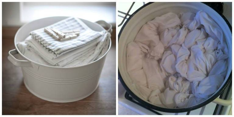 Как эффективно отбелить белые вещи в домашних условиях без кипячения содой и перекисью