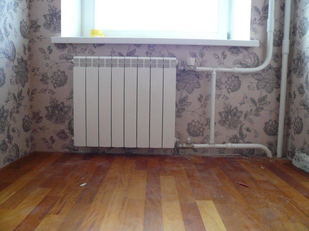 Как поменять батарею в квартире - советы домашнему мастеру