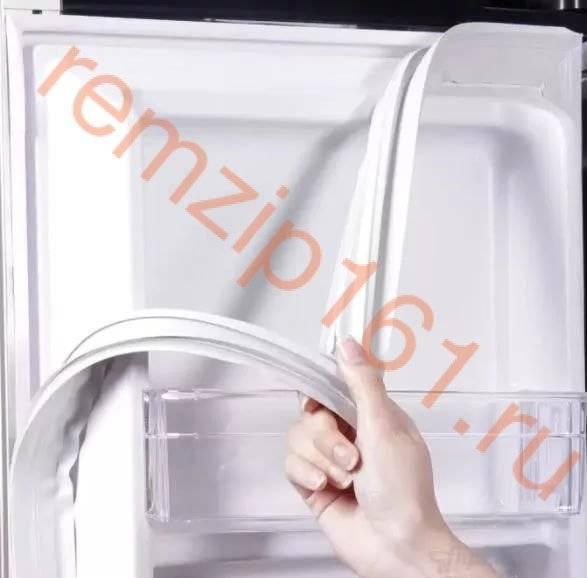 Замена уплотнительной резинки на двери в холодильнике lg